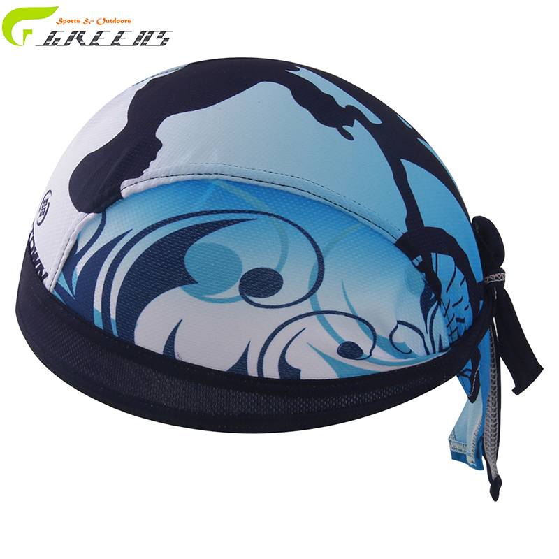 Cycling Sports Headwear Scarf Polyester Cap Sweatproof Breathable Quick Dry Outdoor Riding Bike Headband Pirate Bandana/hat/caps(China (Mainland))