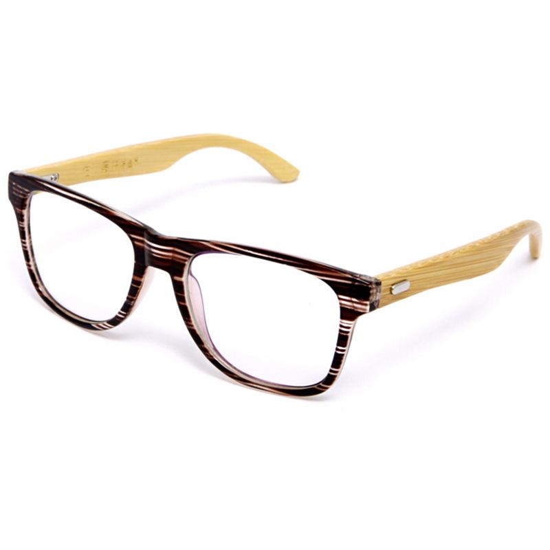 Mens Wooden Frame Glasses : Japan Handmade Bamboo Ultra Light Glasses Frame Vintage ...