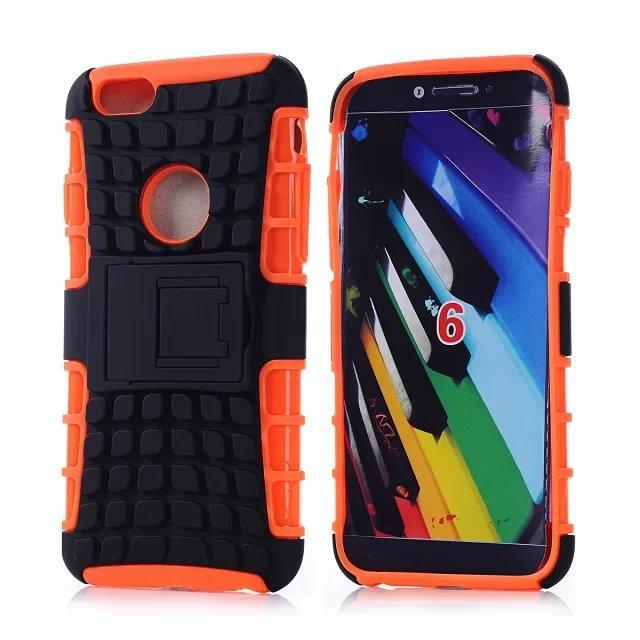 orange mobile phone shell bracket combo water sleeve robot protective sleeve for iPhone6(China (Mainland))