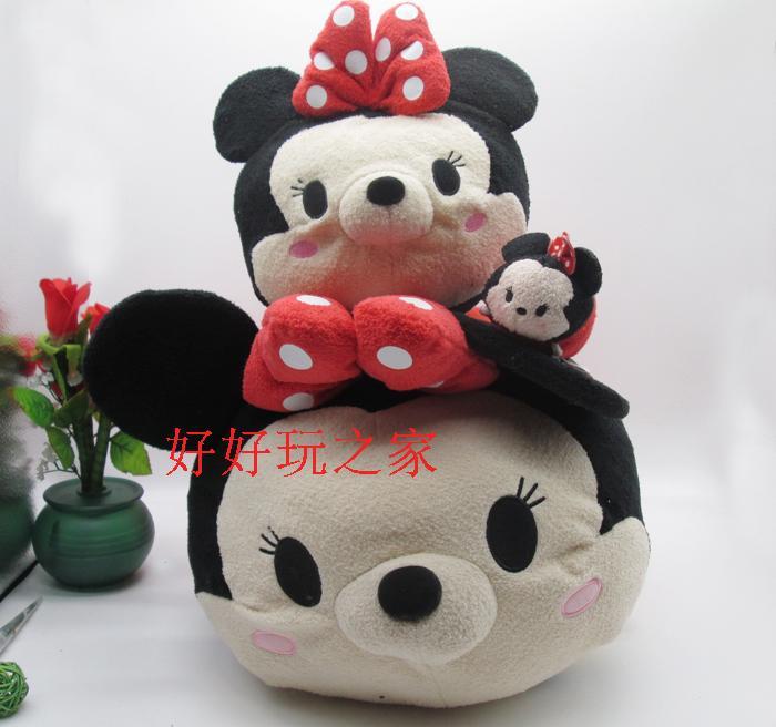 Original 58cm TSUM TSUM Minnie Mouse Cute Biggest Stuff Plush Toy Girl Birthday Gift(China (Mainland))