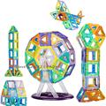 Mini 30pcs 50pcs 60pcs Educational Toys For Children 3D Construction Building Blocks Models Assembly Kits Magnetic