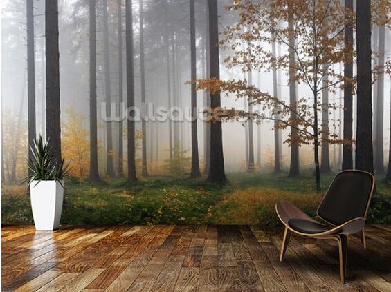 Bos Behang Slaapkamer: Bos behang slaapkamer de mooiste muren lady ...
