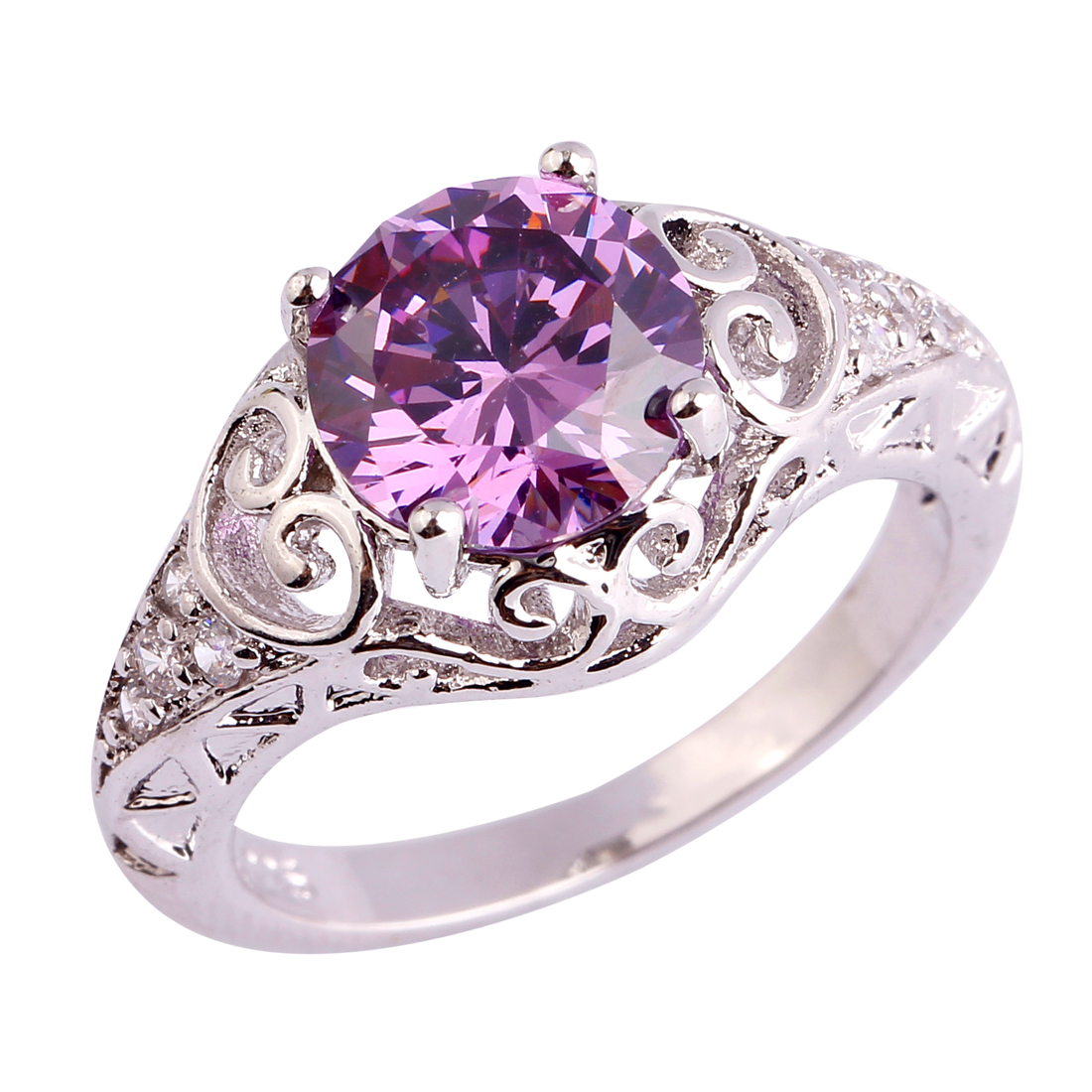 aliexpress buy new wholesale ring amethyst