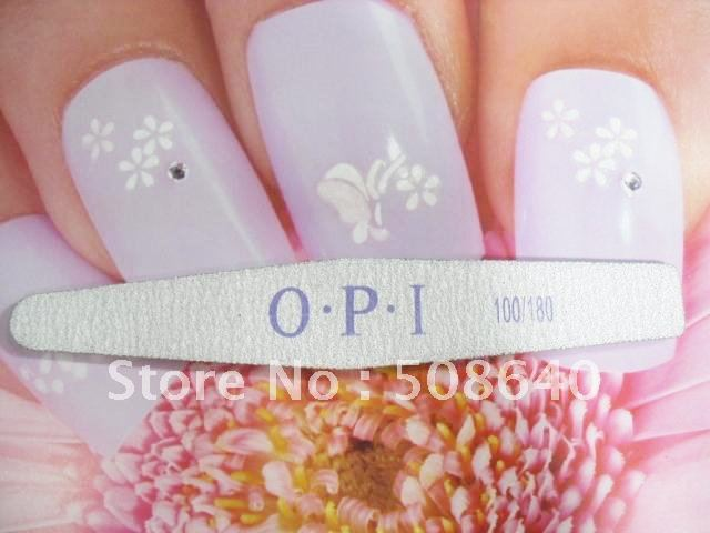 FreeShipping Excellent Nail File Nail Art Standing Buffer Finger Manicure For Nail Beauty-009