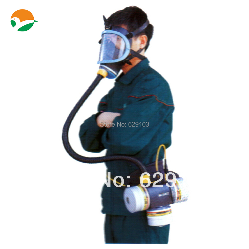 Powered air breathing apparatus with three filters used for firefighting or industrial<br><br>Aliexpress