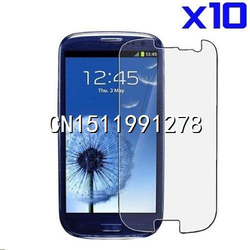Защитная пленка для мобильных телефонов 10pcs/lot S3 Samsung i9300 Hight защитная пленка для мобильных телефонов ] 2 x lcd samsung siii s3 i9300