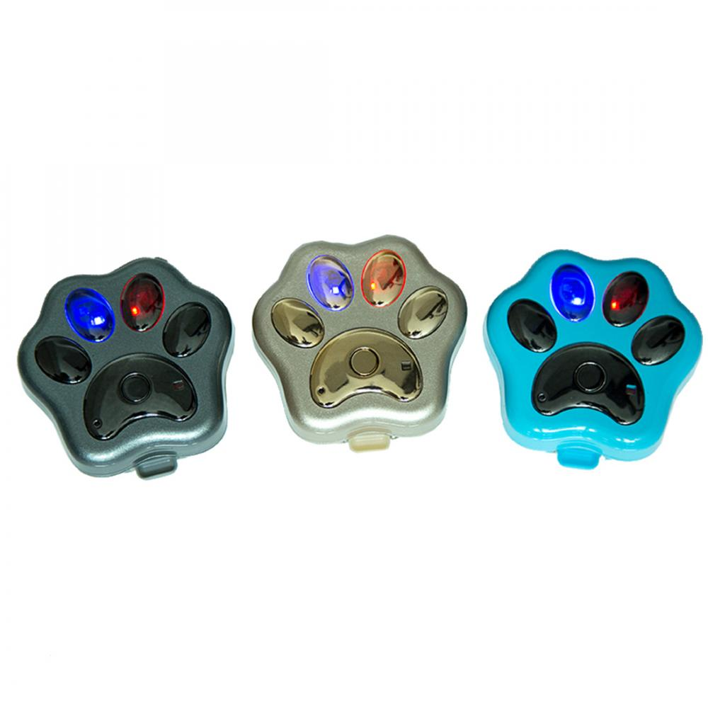 Personal Portable Dog Paw Shape Real Time Smart GPS Tracker Blue Black Gold for Optional(China (Mainland))