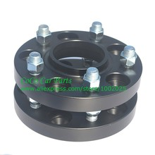 (2pcs/lot) PCD 5x120 CB 72.6mm Thick 20mm Forged Alloy Aluminum Wheel Spacer Adapter 5 Lugs Wheel Spacer Black Color(China (Mainland))