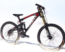 "21/24/27 Speeds Downhill Bicicletas 26""*17.5"" Damping Full Suspension Fork Oil Disc Brake Bicicleta 2.35"" Tire Mountain Bike 26(China (Mainland))"