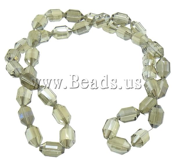 Free shipping!!!Crystal Beads,Designs, AB color plated, faceted, 16x10.50mm, Hole:prox 1.5mm, 200PCs/Lot, Sold By Lot<br><br>Aliexpress