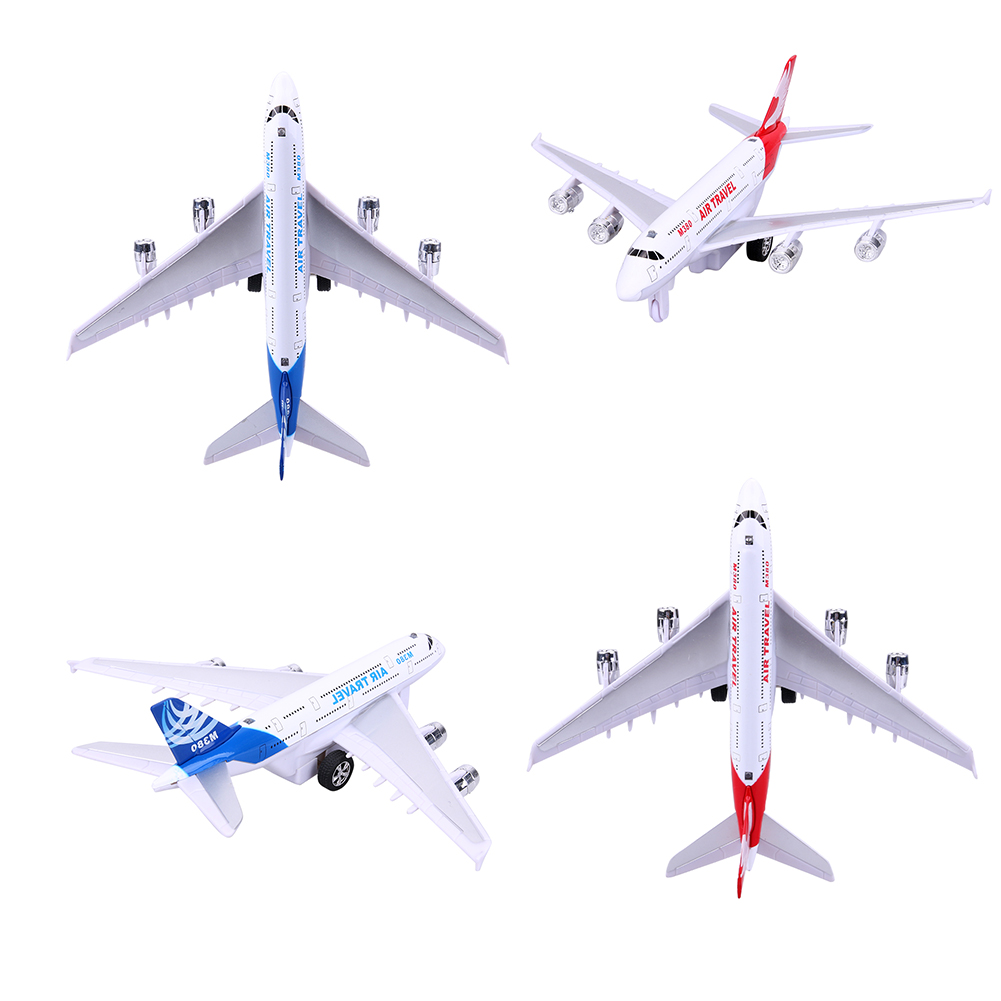 Train hand-eye co-ordination skills Alloy Airplane Model Kids Children Airliner Passenger Plane Toy Gift 3 years and up(China (Mainland))