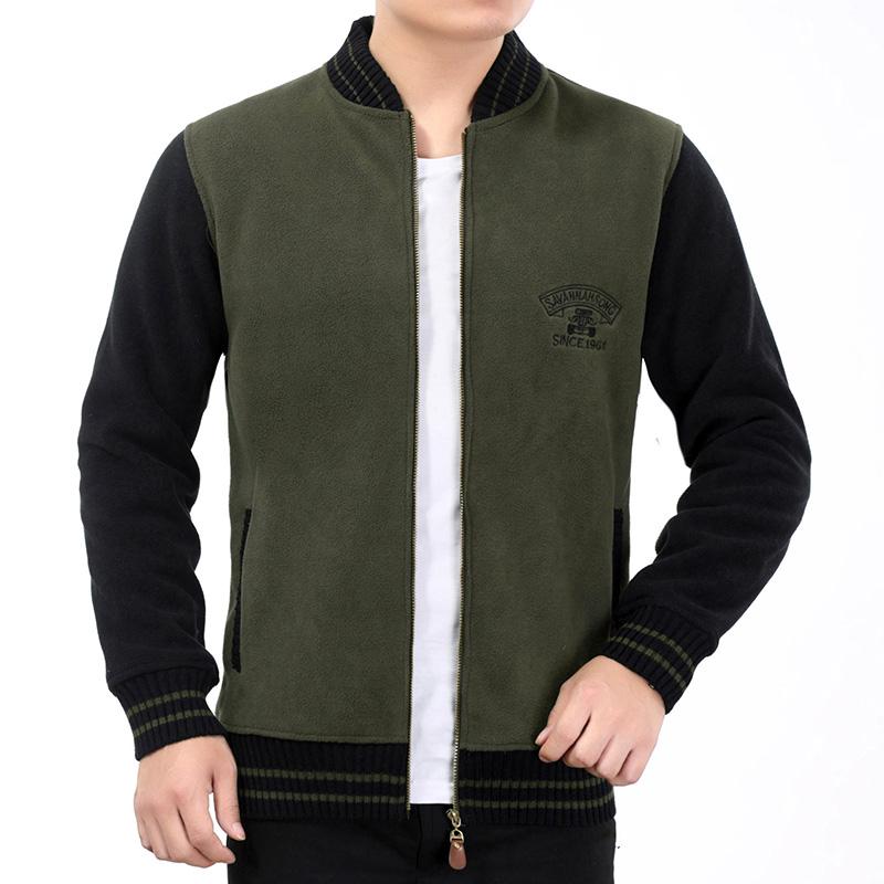 AFS JEEP 2016 Autumn New Brand Mens Jackets And Coats Casual Fashion Stand Zipper Collar Slim Fit Warm Windbreaker Jacket Men(China (Mainland))