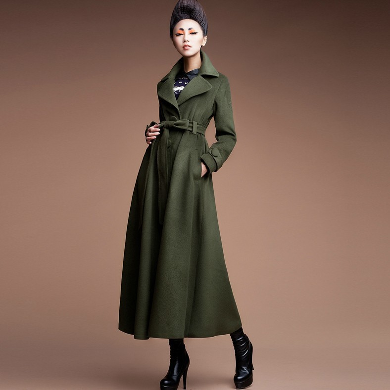 Long Wool Winter Coats For Women - Coat Nj