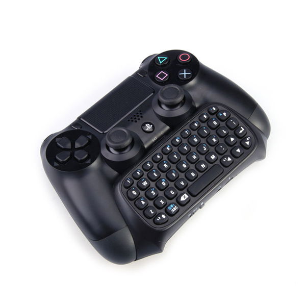 Dropshiping Black Mini Bluetooth wireless keyboard Keypad for PlayStation 4 PS4 Controller Wholesale(China (Mainland))