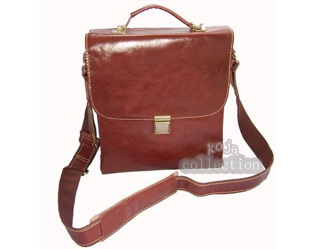 FREE SHIPPING-Wholesale Price Tote Men's Hot Italian Top Genuine Leather/ Real Leather Shoulder Bag Messenger Bag Briefcase