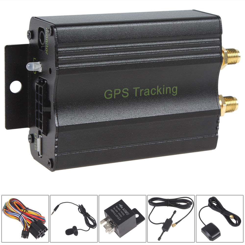 Global GPS Vehicle Tracking System Device With Movement and Speed Alert car gps tracker<br><br>Aliexpress
