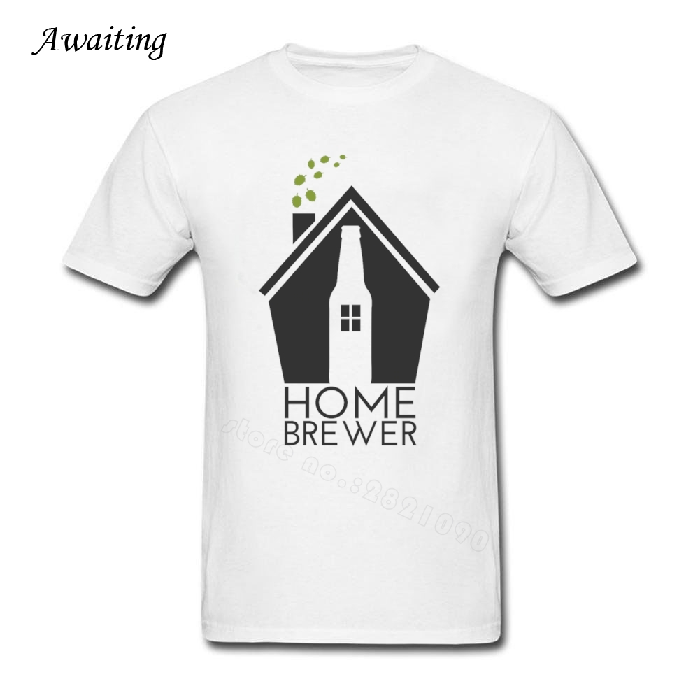 Men Tee Home Brewer CRAFT BEER TShirt Man Short Sleeve Cotton T-Shirt For Teenager Summer O-Neck Adult Brand Clothing(China (Mainland))