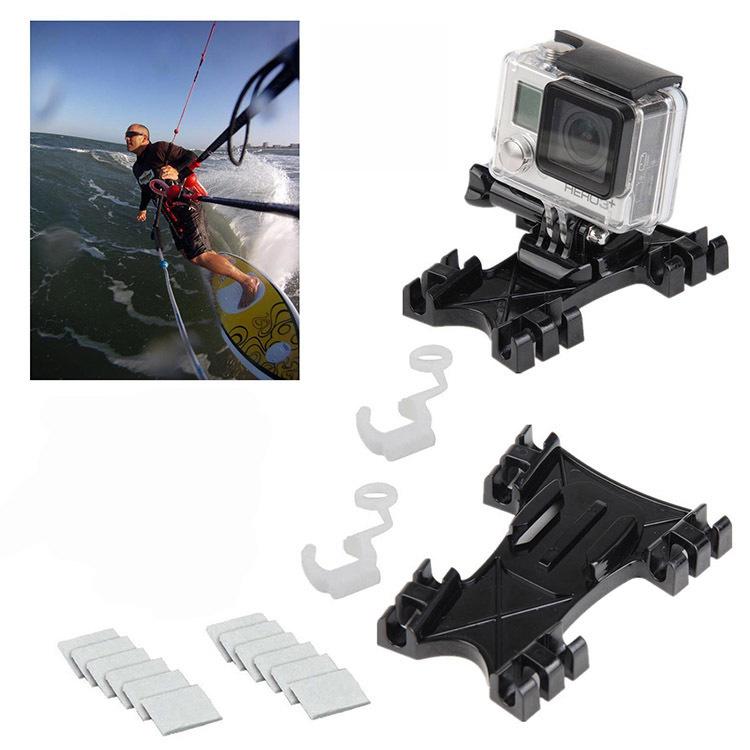 Kite Surfing Wakeboard Kit Gopro Mount Anti Fog Inserts for Gopro Hero 4 3+ 3 Xiaomi Yi Action Camera SJ4000 SJ5000 SJ6000