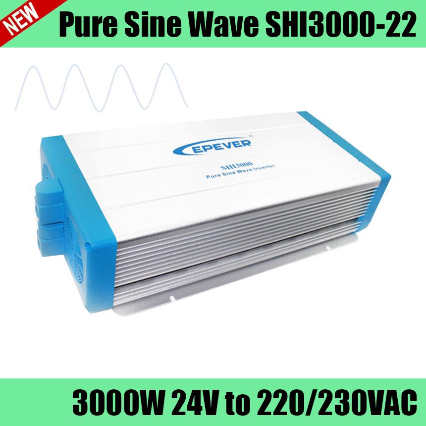 SHI3000-22 24V 3000W pure sine wave full power inverter for using household appliances, solar photovoltaic power system<br>