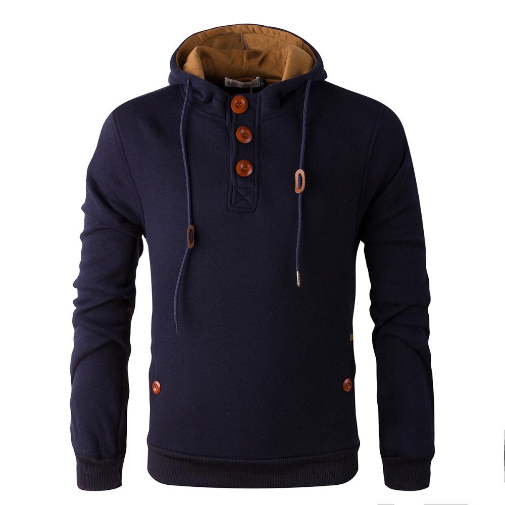 2015 NEW brand sports hoodies men fleece Fashion men's warm Hoodies Sweatshirts, Suit Hoody jacket 5 colors(China (Mainland))