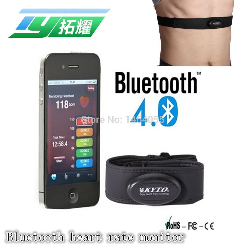 New Arrival Smartphone Bluetooth Heart Rate monitor / Bluetooth chest belt for Ipad sport tracker free ship relogio masculino(China (Mainland))