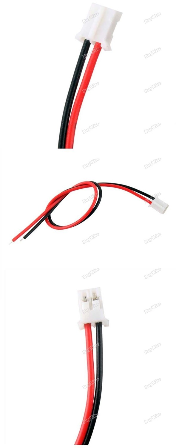 enjoyshop lowest price 100x 2 pin led light to wire connector pcb adapter for led light