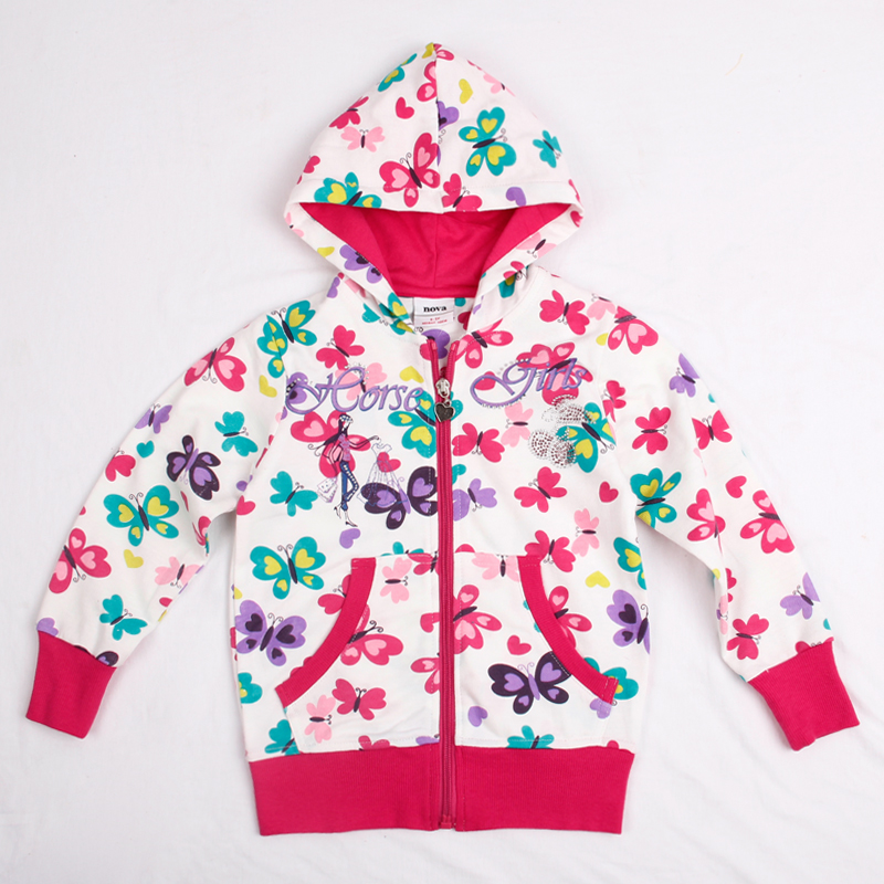 kids clothes embroidery coat 2016 new casual Hoodies Sweatshirts for baby girls F3001<br><br>Aliexpress