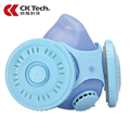 CK Tech Brand New Design Gas Mask Anti Dust Paint Respirator Chemical Gas Protection Filter Face