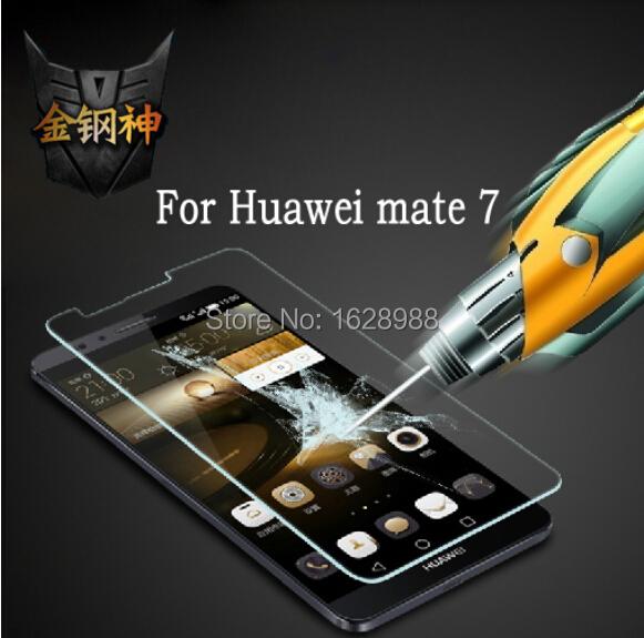 HUAWEI Ascend Mate 7 Mate7 9H Nanometer Anti-Explosion Tempered Glass Screen Protector Film - 100% Original product store