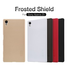 Buy case Sony Xperia Z5 NILLKIN Super Frosted Shield hard back cover Sony Xperia Z5 screen protector Retail package for $7.19 in AliExpress store