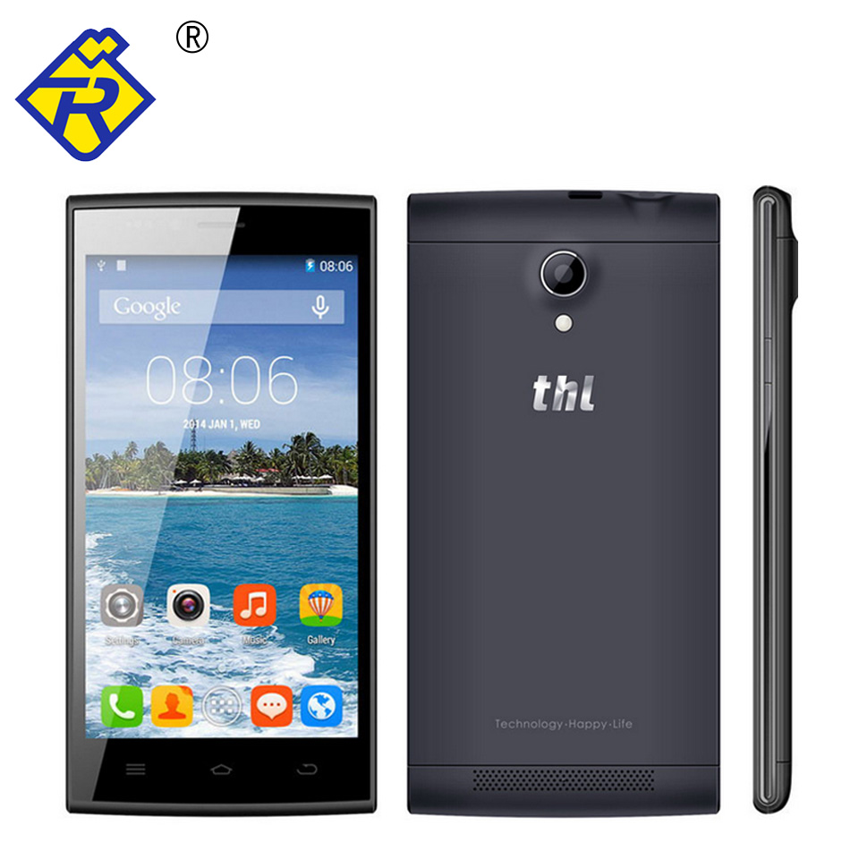 Original THL T6C Android 5.1 WCDMA MTK6580 Quad Core 1.3GHz 1GB RAM 8GB ROM 854x480P 5.0inch 5.0MP Camera 1900mAH