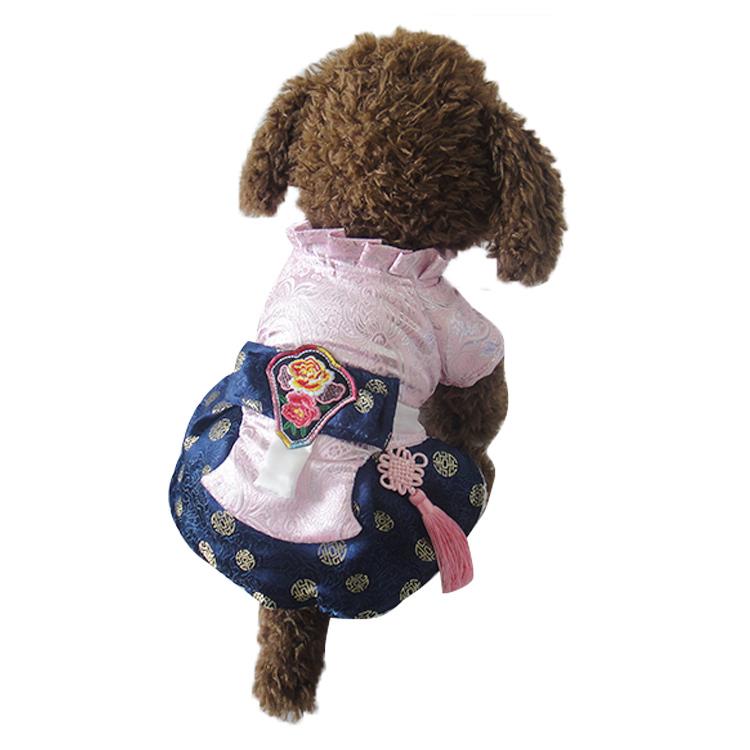 Rosa temperamento menina cães Pet cães vestido roupas de s a xl por cães