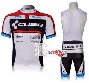 Free shipping! CUBE 2012 bib short sleeve cycling wear clothes short sleeve bicycle/bike/riding jerseys+bib pants