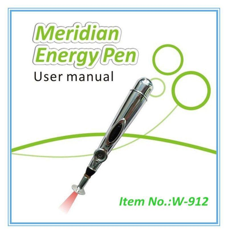 Wholesale - Super Cheap Laser cycle energy meridians pen acupuncture stick magic electronic acupuncture pen of the meridian free shipping