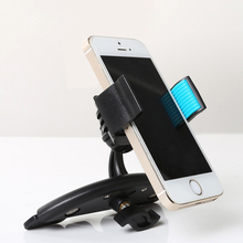 2016 Newest Rotation 360 Degrees Car Phone Support CD Slot mouth Car Phone Holder Stands for iPhone 6Plus/5s/5/4s/Samsung/Xiaomi(China (Mainland))
