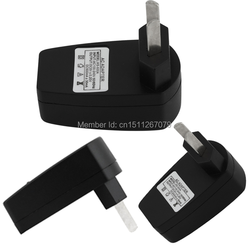 5pcs/lot AU USB Power Adapter & Wall Charger Replacement Universal for Samsung Galaxy S4 S3 for Sony LG NOKIA Free Shipping xJ(China (Mainland))