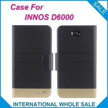 5 Colors Hot! INNOS D6000 Case New Fashion Business Magnetic clasp Ultrathin Flip Leather Case For INNOS D6000