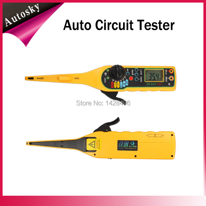 Promotion Multi-function Auto circuit tester Line Electricity Detector, Lighting Auto Repair Tool(China (Mainland))