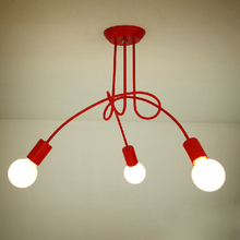 Hot Sale Fashion Design of Kids Room Lamp Nordic Dome Light 3/5 heads Ceiling Lights for Home Decor YSL-1836C Free Shipping(China (Mainland))