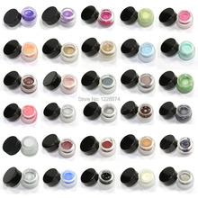 Free Shipping Hot Sale New Makeup Waterproof Eyeliner Gel Cream Eyes Cosmetic 30 COLOR Eye Liner