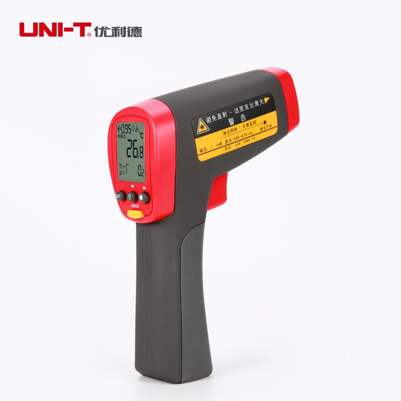 Uni-t UT302D termometro medidor de temperatura nao de infravermelho de mao Industrial IR termometro Gun - 32 a 1050C<br><br>Aliexpress