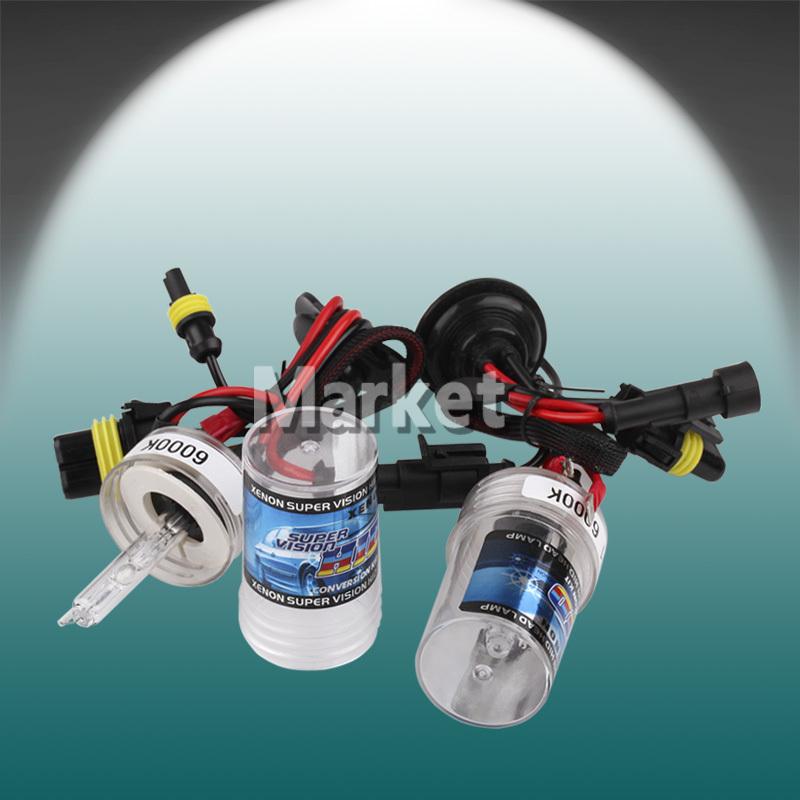 2pcs H7 HID Xenon bulb White Car 6000K 35W h7 xenon Headlights Head lamp parking car light source bi xenon h7 Bulb 12V(China (Mainland))