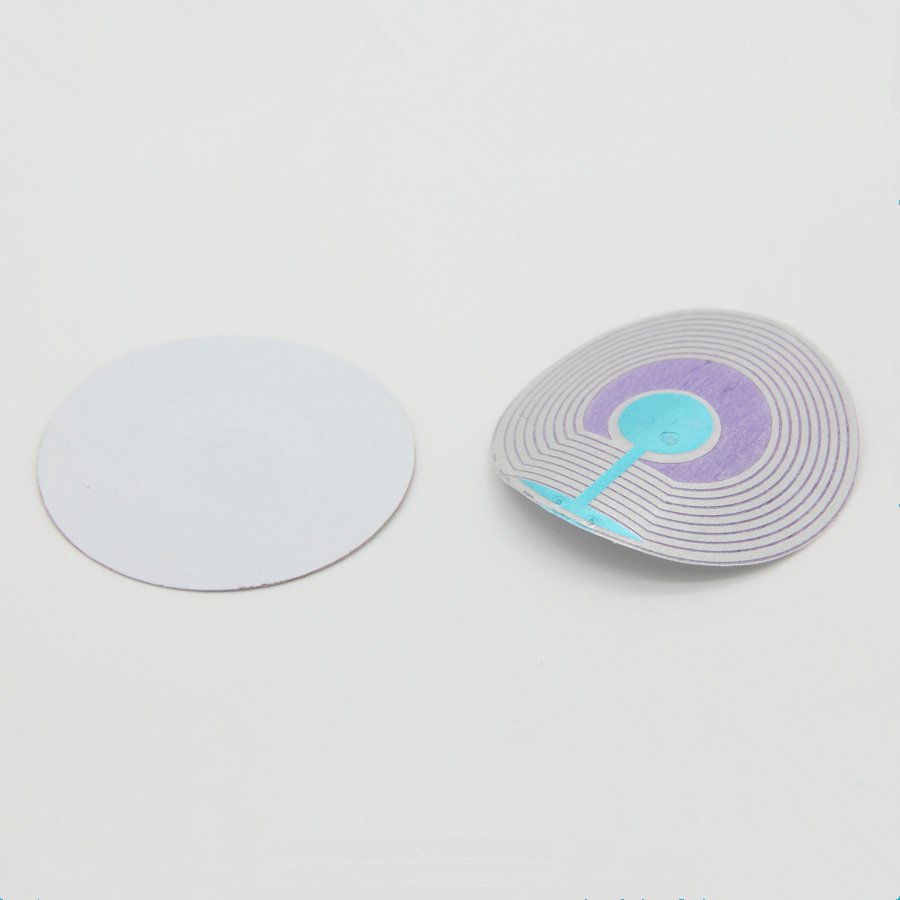 40mm 8.2MHz RF EAS System Sticker Printable Blank Sticker For 1000piece/roll(China (Mainland))