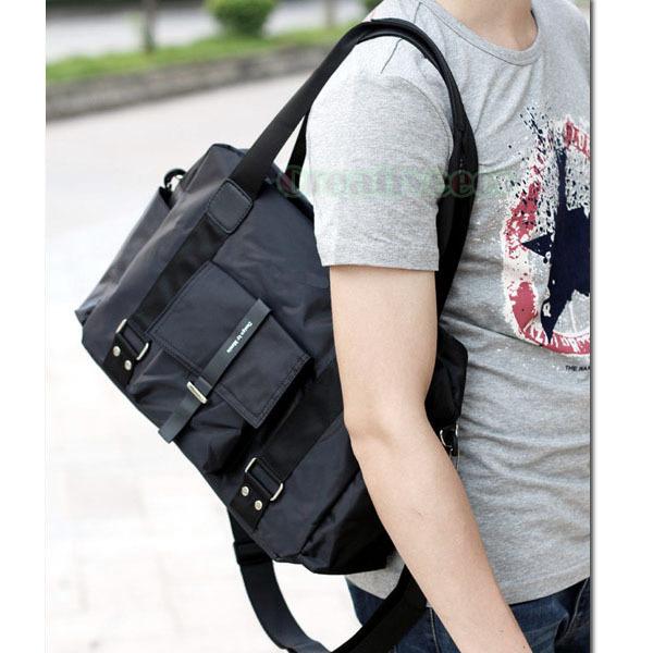 New Men's Fashion Waterproof Nylon Cross body Messenger Shoulder Sports Casual Schoolbag Handbag Tote Bag(China (Mainland))
