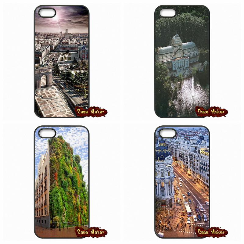 Madrid Spain Scenic Phone Case Cover For Xiaomi Hongmi Redmi 2 3 Note 2 3 Pro Mi2 Mi3 Mi4 Mi4i Mi4C Mi5(China (Mainland))