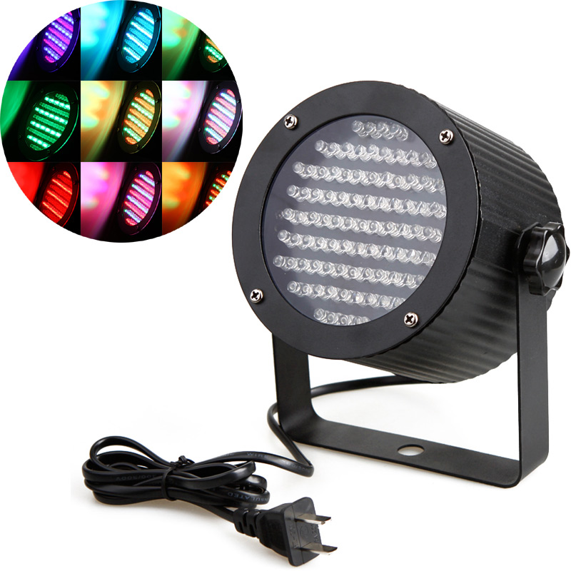 86 RGB LED Light DMX Lighting Laser Projector Stage Party Show Disco US Plug LED Stage Light(China (Mainland))