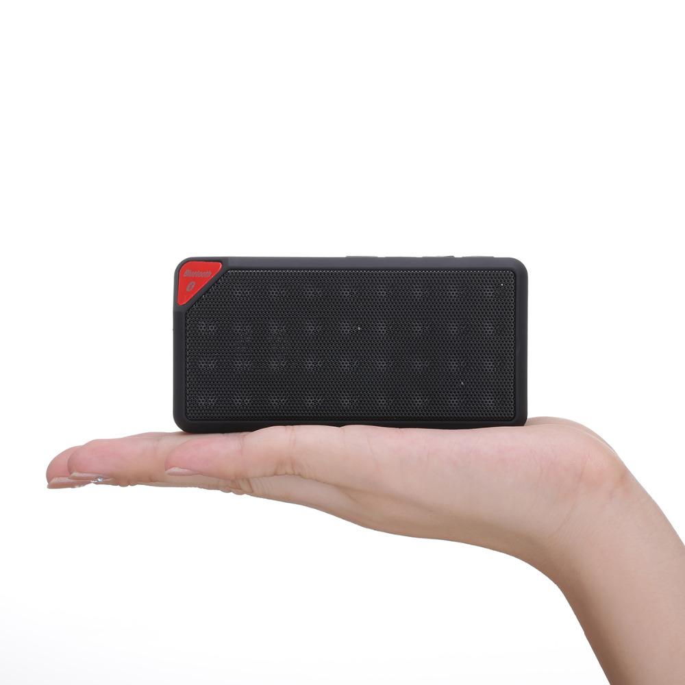 MINI Bluetooth Speaker X3 Jambox Style TF USB FM Wireless Portable Music Sound Box Subwoofer Loudspeakers with Mic caixa de som(China (Mainland))