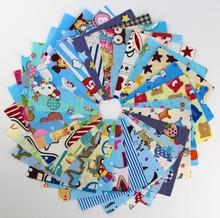30pcs random color 10cm*10cm Remnant cloth fabric cotton fabric charm packs patchwork fabric quilting tilda creative design(China (Mainland))