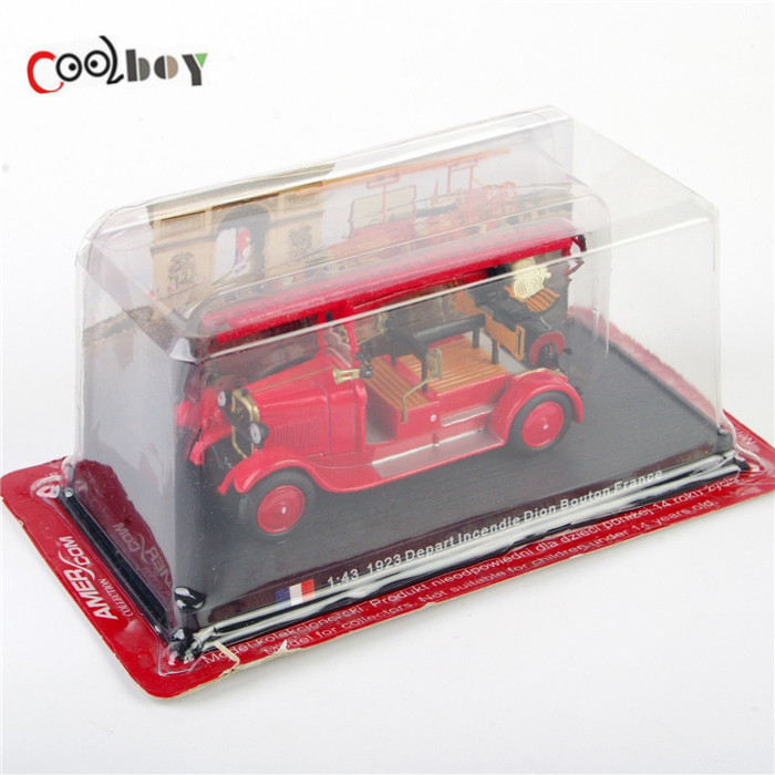 1/43 Fire Truck Toy Vehicles 1923 Depart Incendie Dion Bouton France Diecast Fire Truck Model Collection Gift(China (Mainland))