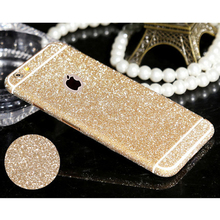 For iphone 4 4s 5 5s 6 6s 6plus 6splus Phone Sticker Hot selling Full Body Glitter Bling Phone Sticker Matte Screen Protector